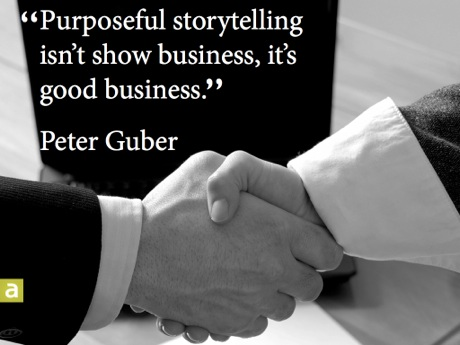Guber Story Quote
