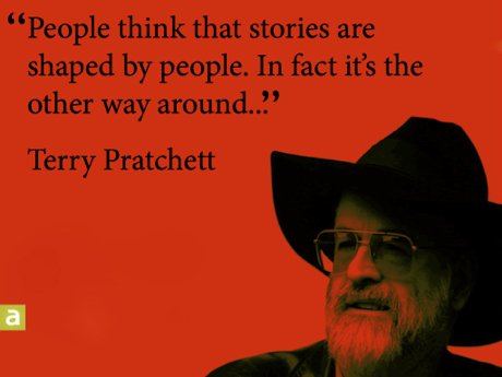 Pratchett Story Quote