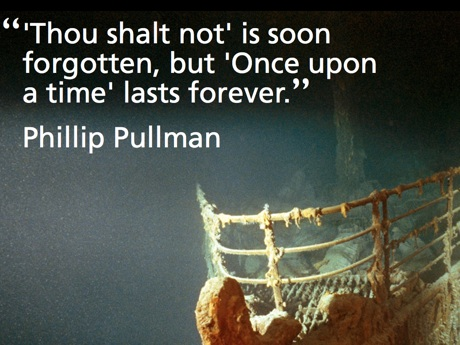 Pullman Story Quote