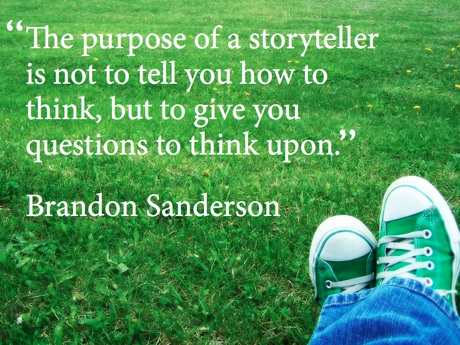 Sanderson Story Quote