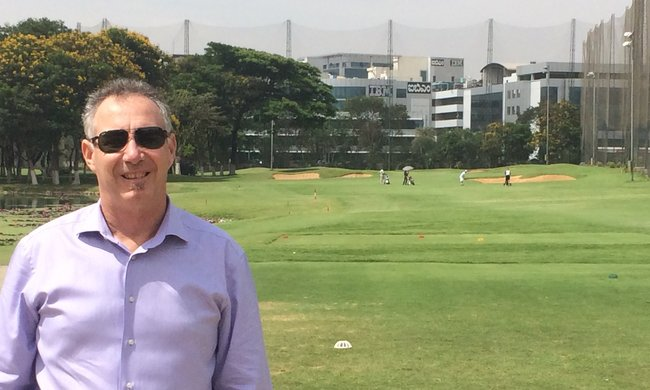 Mark Schenk in Bangalore