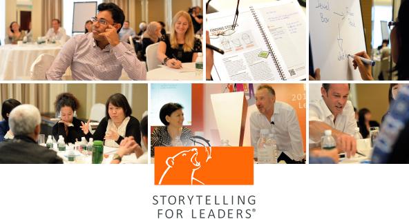 Storytelling for Leaders workshop photos