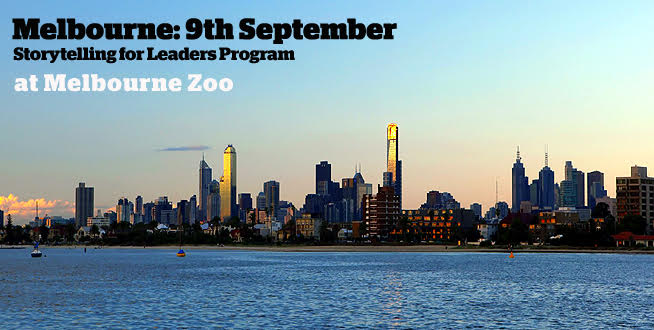 Storytelling for Leaders Program Melbourne