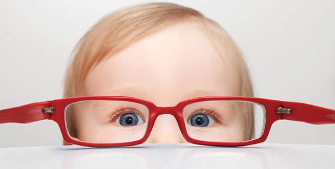 Baby-with-red glasses-