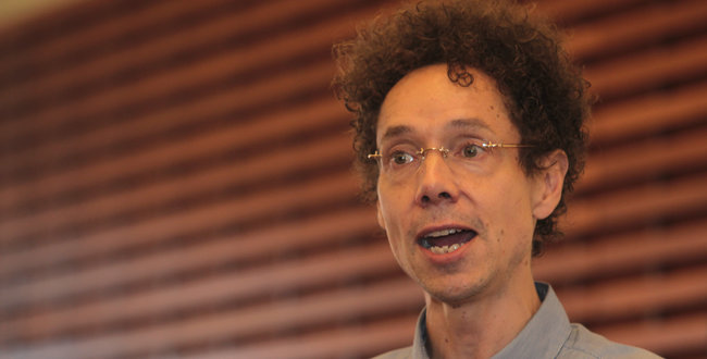 Malcolm Gladwell sharing stories