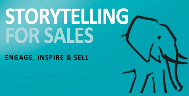 Storytelling for sales is growing