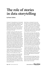 Anecdote article image: The role of stories in data storytelling