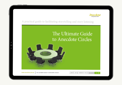 Anecdote eBook image: The Ultimate Guide to Anecdote Circles