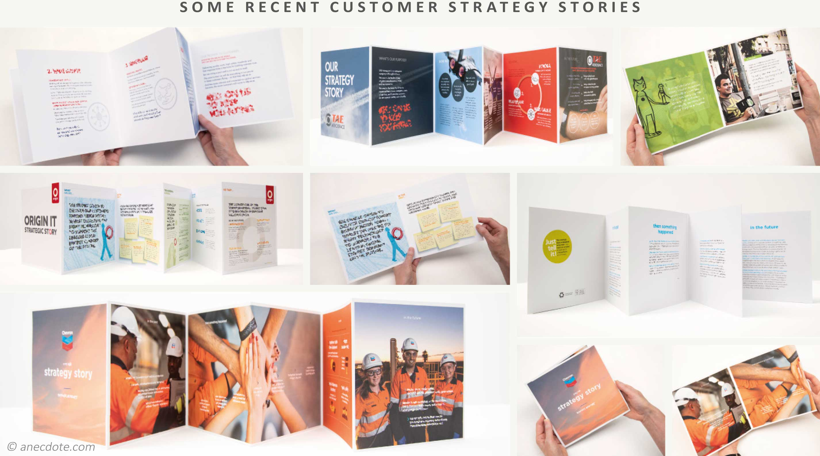 Some recent customer strategy stories