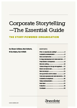 Anecdote article image: Corporate Storytelling—The Essential Guide